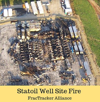 Statoil Well Site Fire