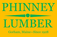 Phinney Logo GREEN Text YELLOW Backgroun