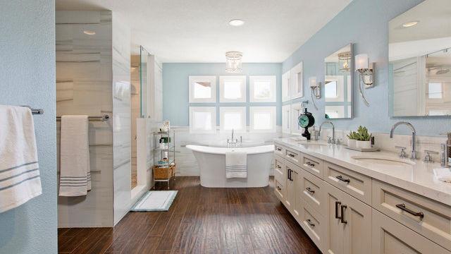 We design bathrooms, too!