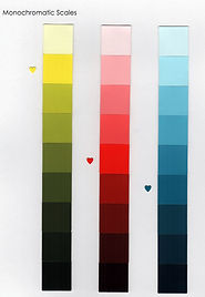California Paints monochromatic scale