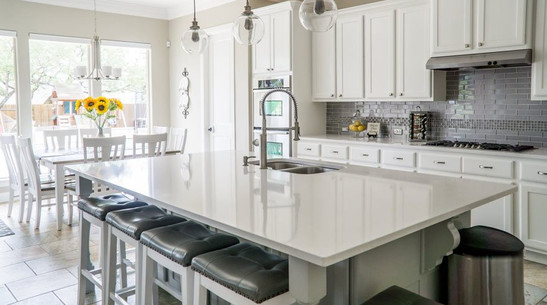 Real wood cabinets, premium features, and the latest styling!
