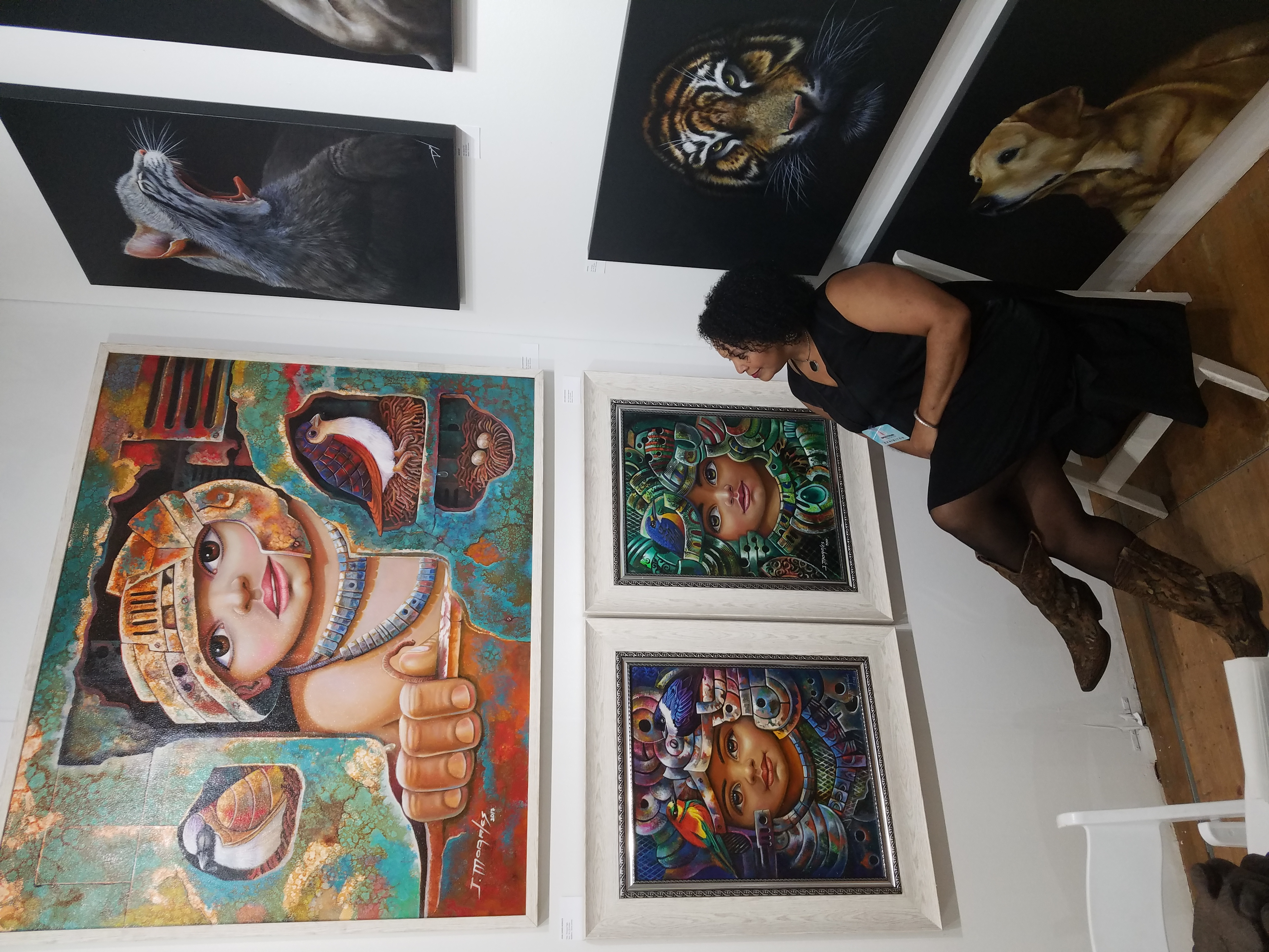 Admiring John Jaimer Morales' work