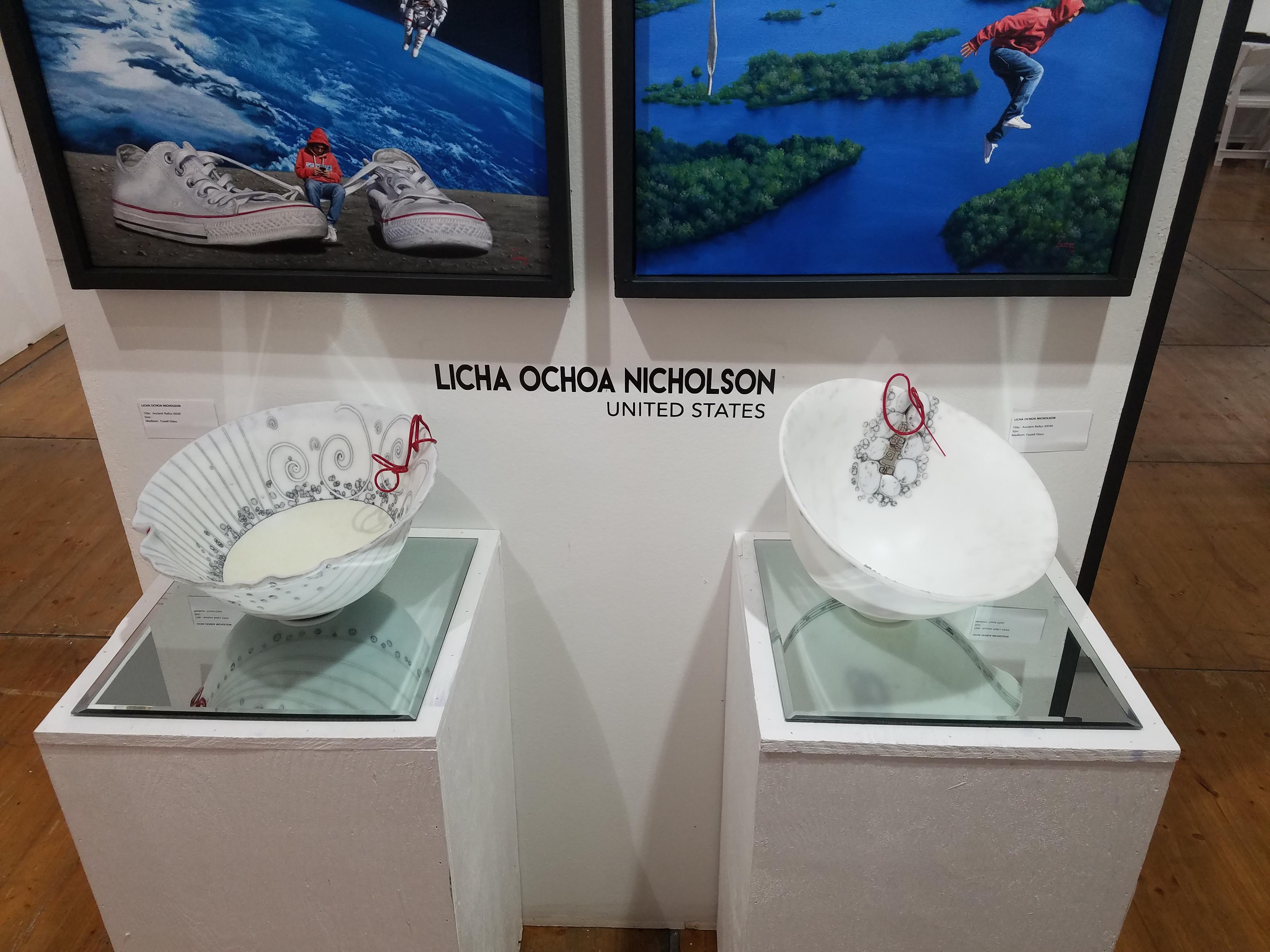 Licha Ochoa Nicholson's Glass pieces