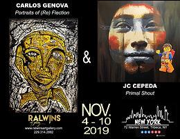 Art Swatch November '19   Genova & Cepeda   NYC