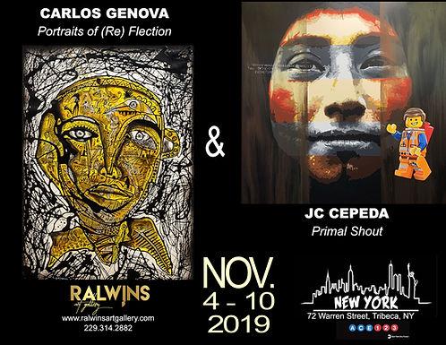 Art Swatch November '19 | Genova & Cepeda | NYC