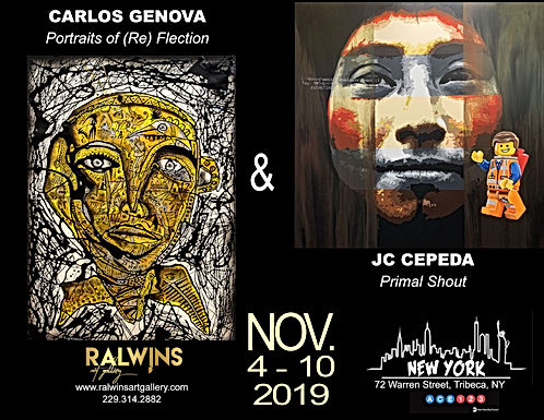 Art Swatch November '19 | Genova & Cepeda | NYC
