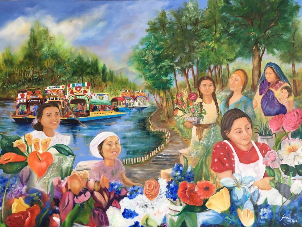 La Florista de Xochimilco