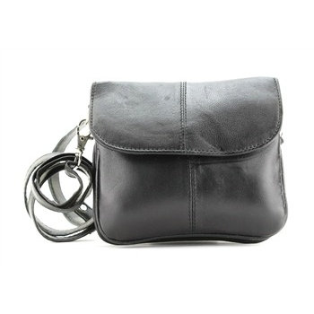 Leather - Small Messenger Cross Body Bag