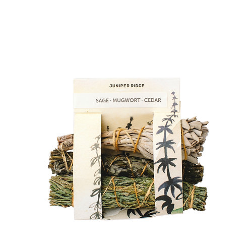 NATURAL INCENSE: Cedar | Mugwort | Cedar