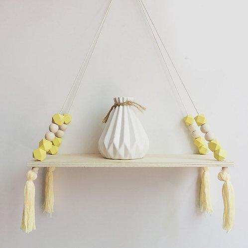 Wall Hanging Wood Shelf