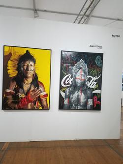 Juan Cepeda's wall