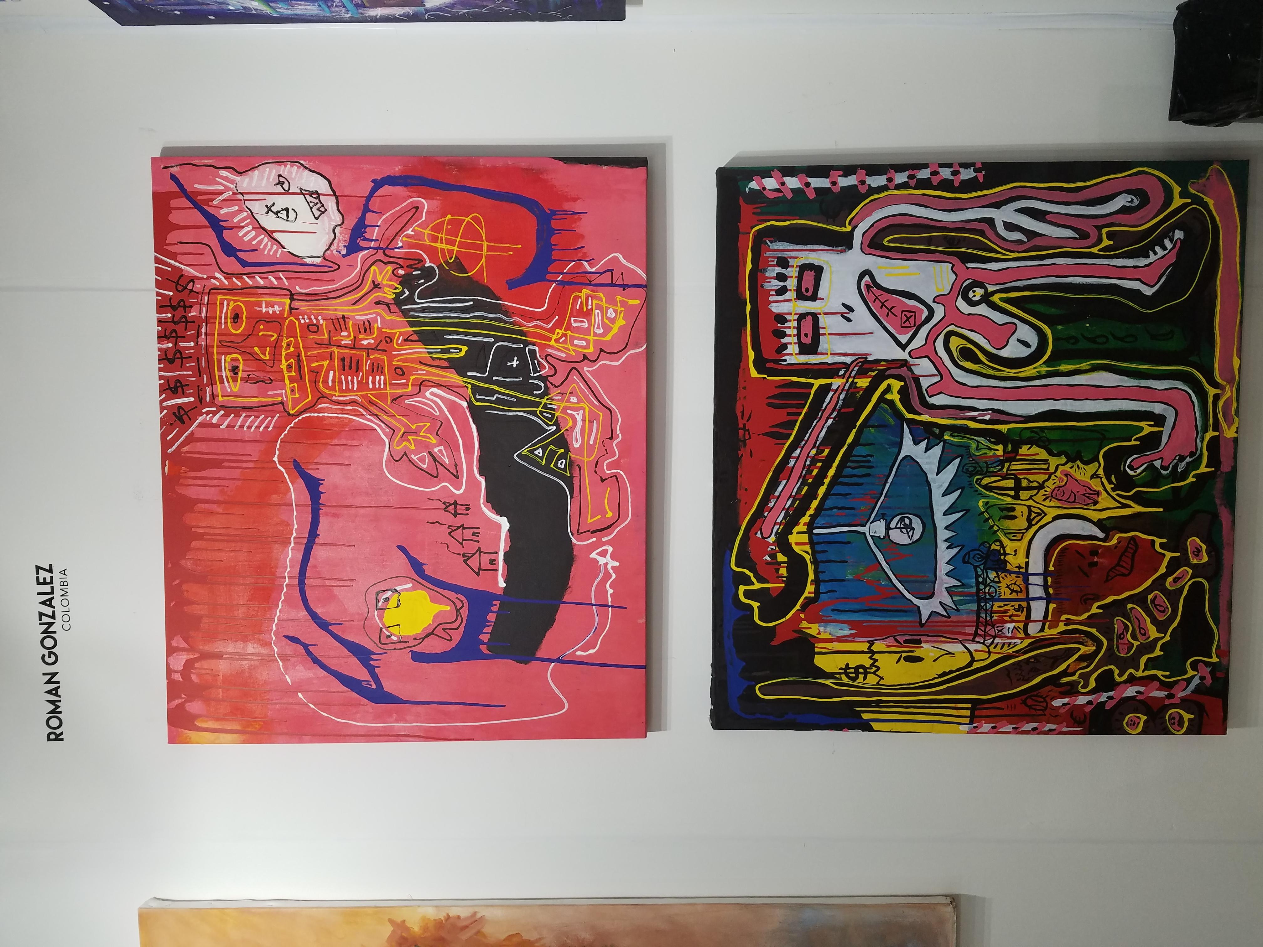 Roman Gonzalez's artwork