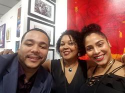 With David Aquino and Erika Duran