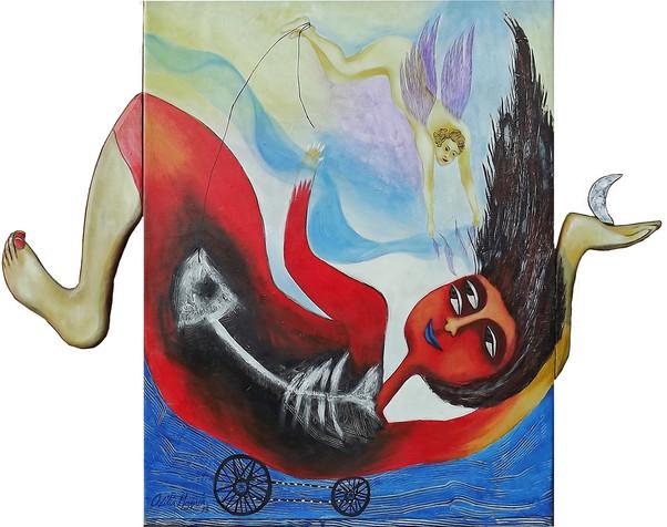 Cuban artist Odilia Mezquia
