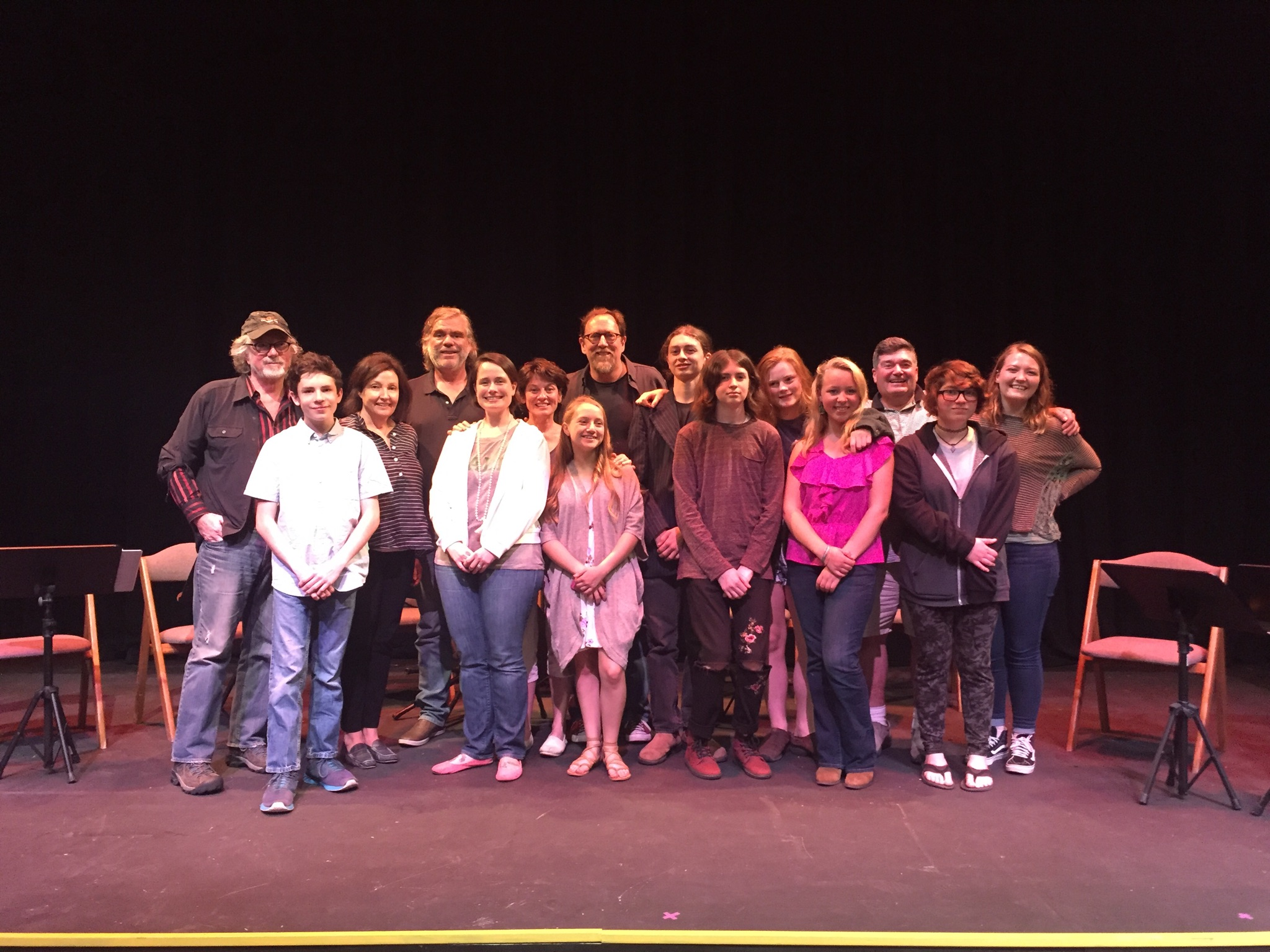 Teen Playwrights & Cast