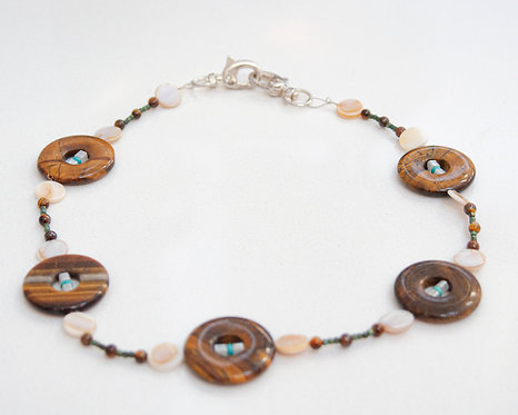 Luminous Tiger Eye Lanyard Necklace