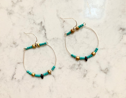 Balance Turquoise Earrings