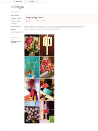 Wiggy Flowers Featured in Style Me Pretty