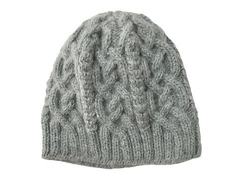 Cable Knit Alpaca Hat