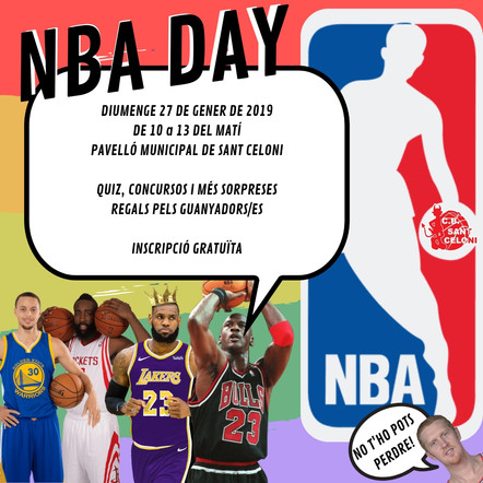 INFORMACIÓ NBA DAY