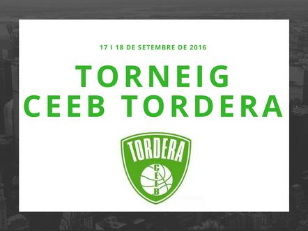 INFORMACIÓ TORNEIG CEEB TORDERA