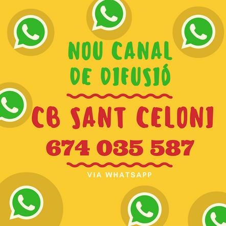 NOU CANAL DE DIFUSIÓ