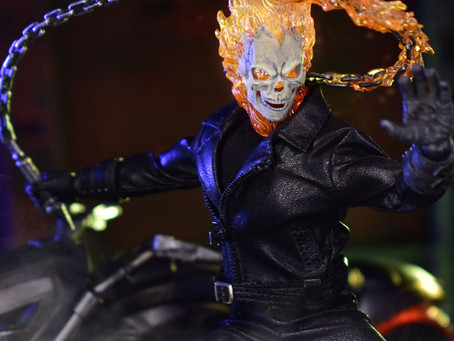 Mezco Toys unleashes Ghost Rider for pre-order!