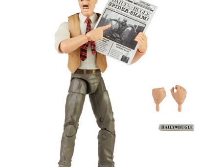 Marvel Legends: Breaking News-J. Jonah Jameson Spider-man Retro Collection figure revealed!