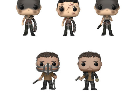 Randy WITNESSES Funko's up-coming MAD MAX FURY ROAD figures!