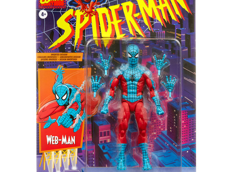 Marvel Legends:  New Web-Man and 80th Anniversary Deadpool figures!