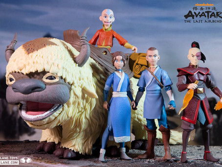 McFarlane Toys:  Avatar-The Last Airbender to appear from McFarlane!