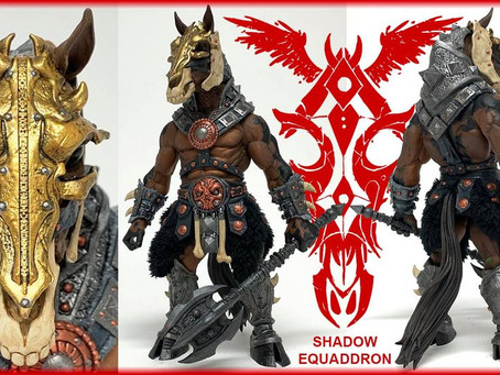 Four Horsemen Reveal Shadow Equaddron figure!