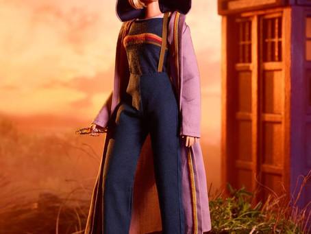 The Doctor Arrives... At Mattel!
