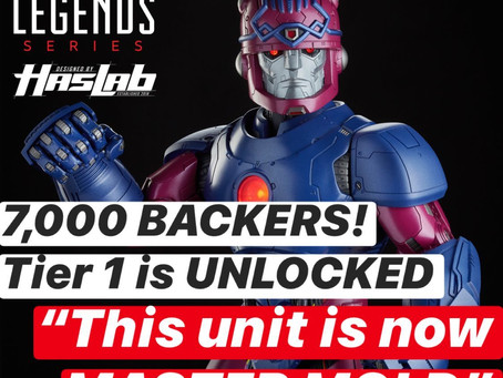 HasLab Marvel Legends Sentinel - Reaches 7000 Backers, Tier 1item revealed!