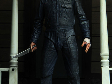 NECA:  Michael returning to toy shelves when HALLOWEEN KILLS!