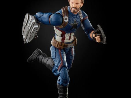 Marvel Legends: Infinity Saga Captain America-WalMart Exclusive!
