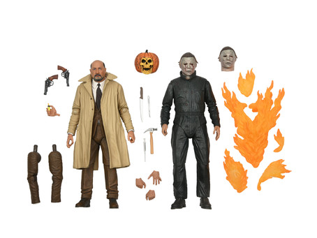 NECA:  Michael Meyers and Dr. Loomis face off in  HALLOWEEN II set!