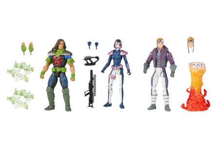 Marvel Legends:  X-FORCE gets 3 members in one pack!