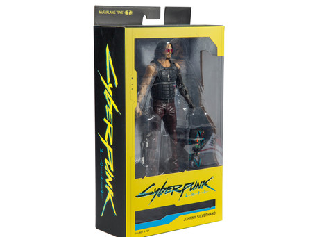 The Return of Johnny Silverhand, Takemura and the next wave of McFarlane's CYBERPUNK 2077 Figure