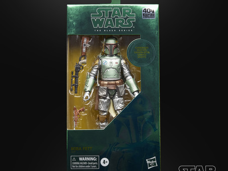 The Carbonization of STAR WARS Black figures continues!