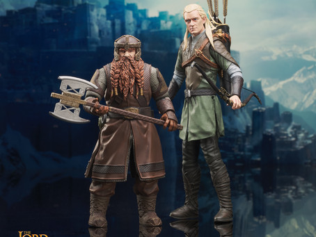 Diamond Select: LOTR Figures Hitting This Week and Superman coming soon!