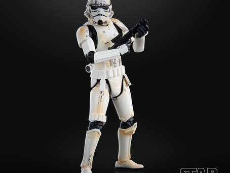 MANDO MONDAY:  Star Wars Black Remnant Stormtrooper Figure up for exclusive pre-order!