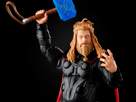 Marvel Legends:  INFINITY SAGA Thor figure available for pre-order!
