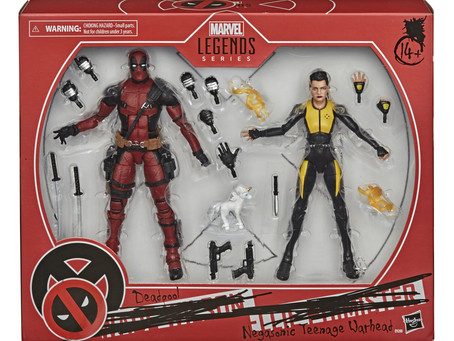 Hasbro is bring Deadpool and friends from the movies to Marvel Legends!