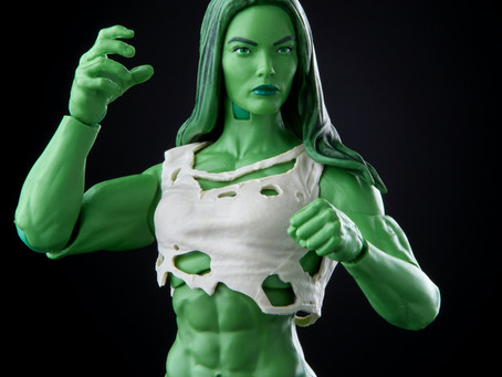 Marvel Legends:  She-Hulk goes green in return!