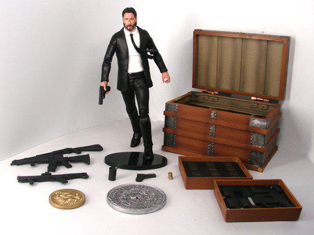 Diamond Select's Deluxe JOHN WICK movie poster figure hitting stores!