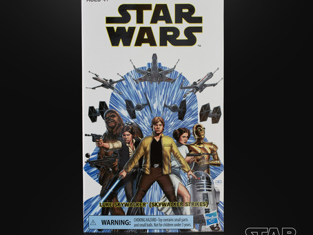 Star Wars Black Convention Exclusive Luke figure coming soon!