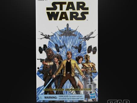 Star Wars Black Convention Exclusive Luke figure coming soon!