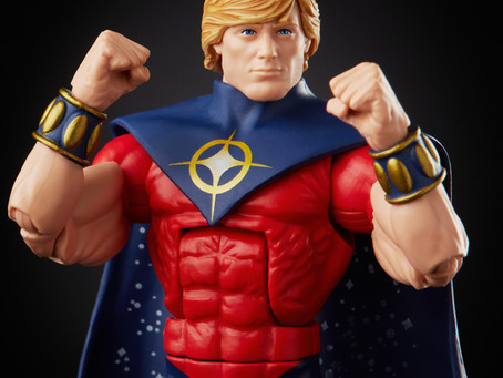 Marvel Legends:  Full reveal of exclusive Marvel Quasar figure - coming this summer!