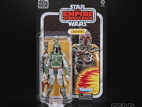 Hasbro reveals Series 3 of the 40th Anniversary EMPIRE STRIKES BACK Star Wars Black figures!